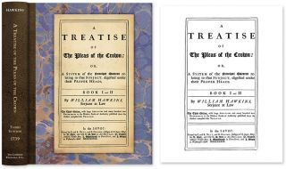 A Treatise of the Pleas of the Crown: Or, a System of the Principal. William Hawkins.