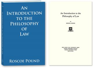An Introduction to the Philosophy of Law. PAPERBACK. Roscoe Pound