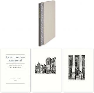 Legal London Engraved: Twelve Wood Engravings. Hillary Paynter, Notes, Intro W. E. Butler, Hill