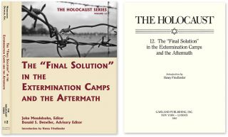 "Holocaust Series Vol. 12: The ""Final Solution"" in the Extermination. John Mendelsohn, Donald S...."