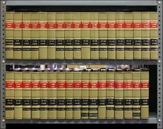 Missouri Cases SW 3d Vols. 1-96, in 35 books (1999-2003). Thomson West.
