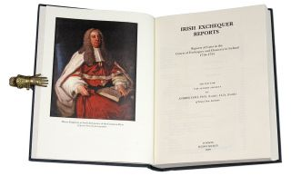 Irish Exchequer Reports: Reports of Cases in the Courts of Exchequer. Andrew Lyall, Selden...