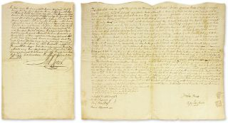 Indenture for New York City Property Signed by Mayor Richard Varick. Manuscript, New York City,...