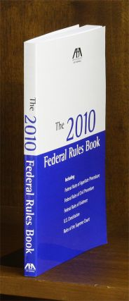 The 2010 Federal Rules Book. 1 Volume. paperback. American Bar Association