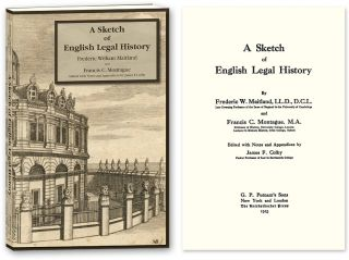 A Sketch of English Legal History. Frederic W. Maitland, James F. Colby