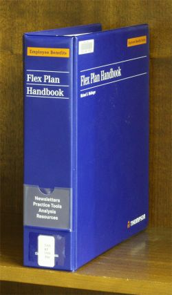 Flex Plan Handbook. 1 Vol. Current through Nov. 2010 update. Rich Glass