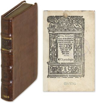 The Abridgement of the Booke of Assises, Lately Perused Over, and. William Liber Assisarum. Callow, Attributed, Sir.