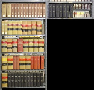 Harvard Law Review. Vols 64 to 104 (1950-1991), in 60 bound volumes. Harvard Law Review