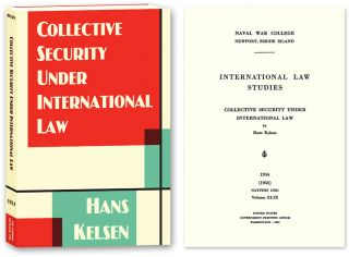 Collective Security Under International Law. Hans Kelsen, PAPERBACK.