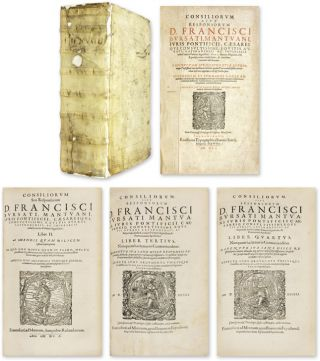 Consiliorum Sive Responsorum, 4 volumes Bound Together. Francesco Bursati, Borsati