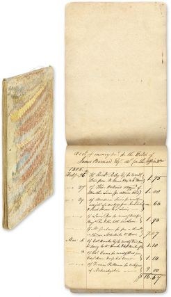 Acct of Money Recd for the Estate of James Barnard, Esq Decd in the. Manuscript, James Barnard,...