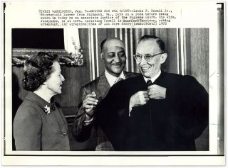 22 Black-and-White Press Photographs of (Or About) the U.S. Supreme...