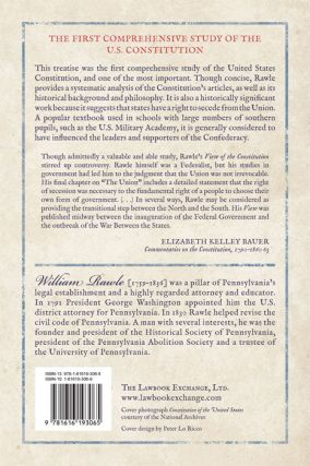 A View of the Constitution of the United States of America. 2d ed.