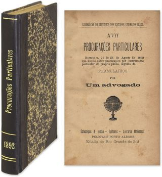 Procuracoes Particulares, Decreto N 79 de 26 [Bound With 5 Titles].