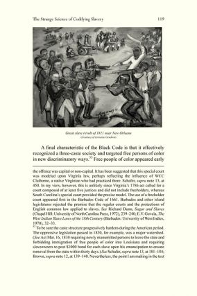 Through the Codes Darkly: Slave Law and Civil Law in Louisiana