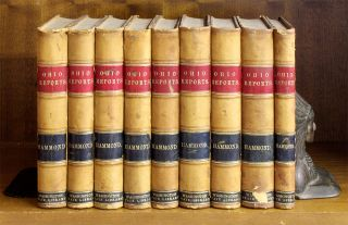 Cases Decided in the Supreme Court of Ohio... 9 vols. Ohio, Charles Hammond, Reporter