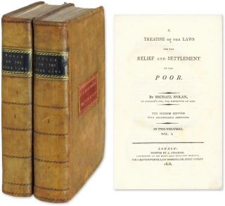 A Treatise of the Laws for the Relief and Settlement of the Poor 2 vol. Michael Nolan