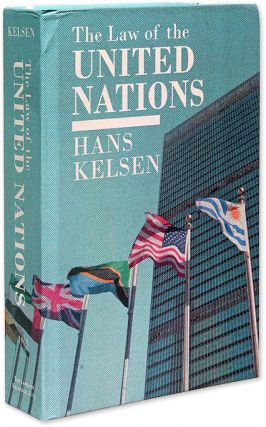The Law of the United Nations. A Critical Analysis of Its. Hans Kelsen