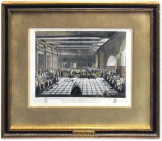 Representation Of The Ceremony Of Presenting The Sheriffs Of London. G. J. M. Whichels, After.,...