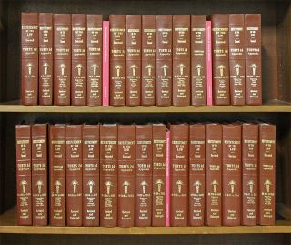 Restatement of the Law Torts 2d Appendix 1-end. 29 books w/2018 supps. American Law Institute.