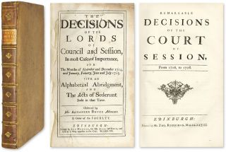 Remarkable Decisions Of The Court Of Session [and] The Decisions. Henry Home Kames, Lord