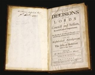 Remarkable Decisions Of The Court Of Session [and] The Decisions...