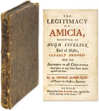 The Legitimacy Of Amicia, Daughter Of Hugh Cyveliok Earl of Chester