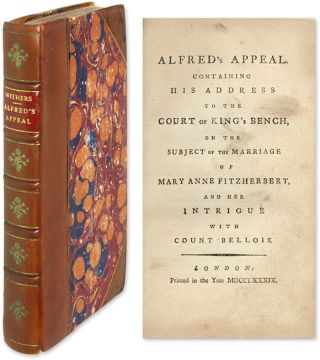 Alfred's Appeal. Containing His Address to the Court of King's Bench