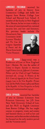 Law and the Modern Condition: Literary and Historical Perspectives