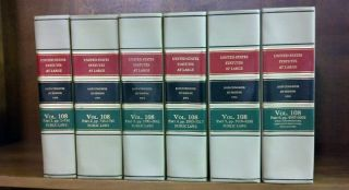 United States Statutes at Large Volume 108, in 6 books (1994)