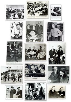 Fifteen (15) Black-And-White Press Photographs of Darrow. Clarence Darrow.