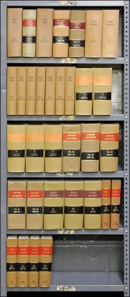 Harvard Law Review. Vols. 49, 60, 62, 64-66, 68-75, 77-88 in 25 books
