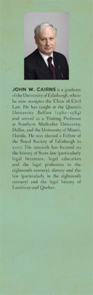 Codification, Transplants and History: Law Reform in Louisiana (1808)