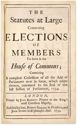 Orders and Resolutions of the Honourable House of Commons on...