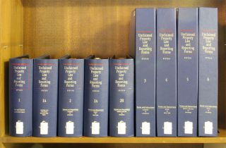 Unclaimed Property Law and Reporting Forms 9 Vols w/rel 60/March 2014. David J. Epstein.