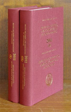 Reports of Judgments, Advisory Opinions and Orders. 2011 (2 book)