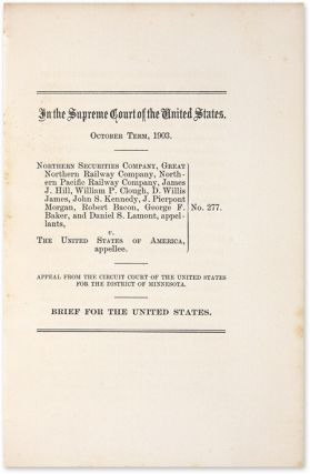 In the Supreme Court of the United States, October Term, 1903...