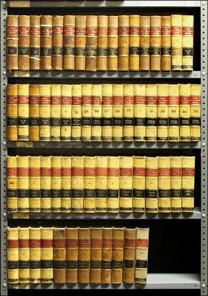 Texas Civil Appeals Reports. Vols. 1-63 (1892-1911