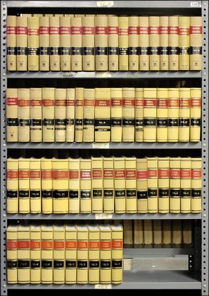 Hawaii Reports. Vols. 14-75 (1902-1994). 62 books. Hawaii Supreme Court