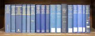 A History of English Law. 17 Vols. Complete set. William S. Sir Holdsworth