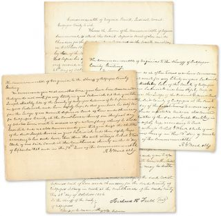 Documents Relating to an Act of Buggery Between a Man and a Horse. Manuscript, Buggery, Virginia.