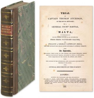 Trial of Captain Thomas Atchison [Bound with Seven Other Pamphlets]. Trials, Catholics, Great...
