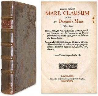 Mare Clausum [1st ed] Bound With De Successionibus & 3 Other Works. John Selden, Dionysius...