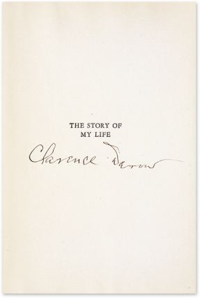 The Story of My Life, In Dust Jacket, Signed by Darrow with his label