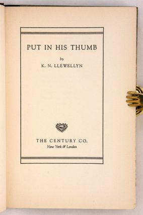 Put in His Thumb, TLS and Signed and Inscribed Card to Philip Jessup.