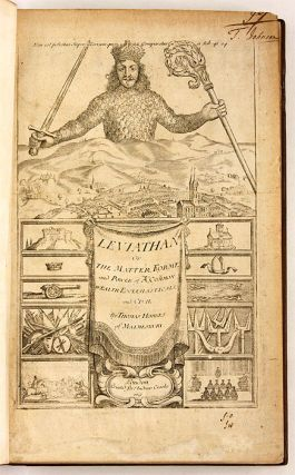 Leviathan, Or, The Matter, Form, And Power of a Common-Wealth...