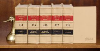 United States Reports. Official edition. Vols. 232-420 (1922-1976)