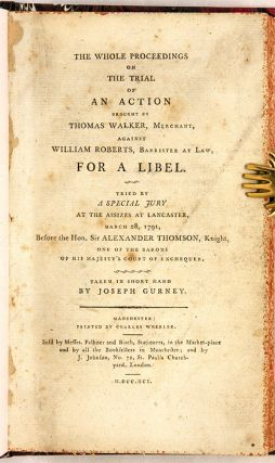 The Whole Proceedings on the Trial of an Action Brought by Thomas...