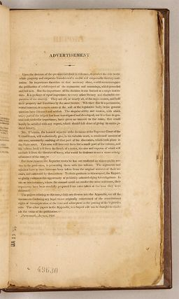 Report of the Case of the Trustees of Dartmouth College... [1819].