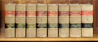 Commentaries on the Law of Contracts, 8 Vols, 1913-1918. William F. Elliott